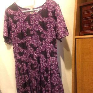 LuLaRoe Dresses - LuLaRoe Floral Amelia with Pockets